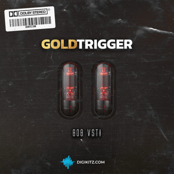 Gold Trigger VST - 808 Plugin Cover