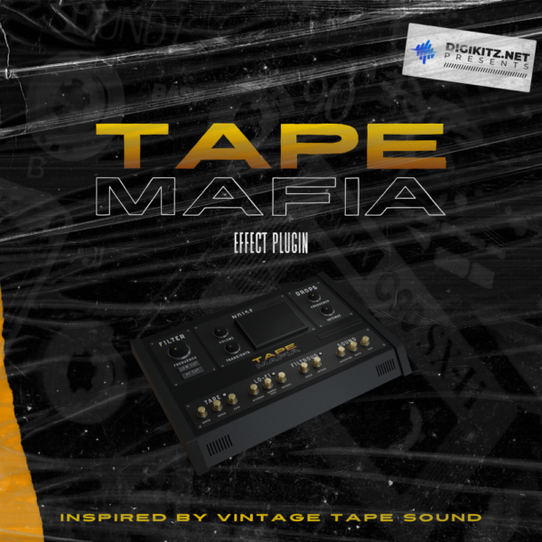 Tape Mafia Vintage Tape Audio Effect Plugin