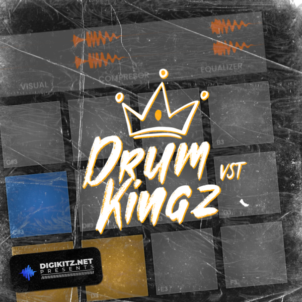 Drum Kingz - MPC Type Drum Player VST - Cover